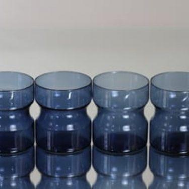 Iittala Tsaikka teelasit, sininen, 4 kpl, suunnittelija ,