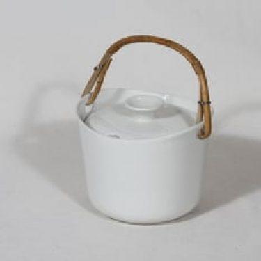 Arabia AL marmelaadirasia, valkoinen, suunnittelija Ulla Procope,