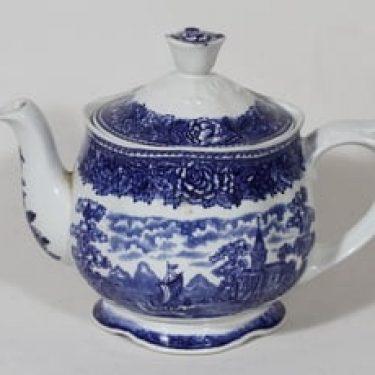 Arabia Maisema teekaadin, sininen, suunnittelija , serikuva
