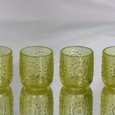 Riihimäen lasi Grapponia lasit, 16 cl, 4 kpl, suunnittelija Nanny Still, 16 cl