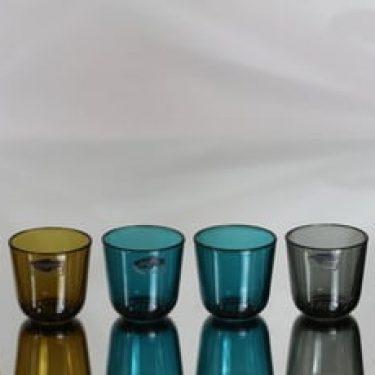 Nuutajärvi 5023 lasit, 8 cl, 6 kpl, suunnittelija Kaj Franck, 8 cl, pieni