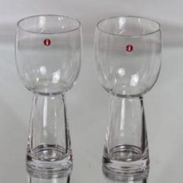 Iittala 2152 lasit, 38 cl, 2 kpl, suunnittelija Irina Viippola, 38 cl