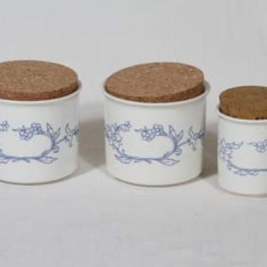 Arabia Sininen maustepurkit, 3 kpl, suunnittelija , serikuva