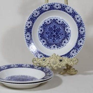 Arabia Ali lautaset, syvä, 3 kpl, suunnittelija , syvä, kuparipainokoriste