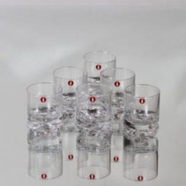 Iittala Gaissa lasit, 4 cl, 6 kpl, suunnittelija Tapio Wirkkala, 4 cl, pieni