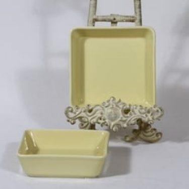 Arabia Kilta kulhot, keltainen värilasite, 2 kpl, suunnittelija Kaj Franck, pieni