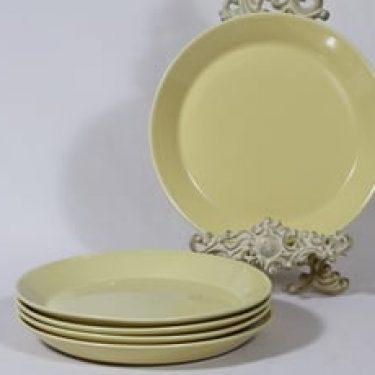 Arabia Kilta lautaset, matala, 5 kpl, suunnittelija Kaj Franck, matala