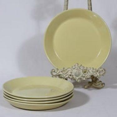 Arabia Kilta lautaset, pieni, 5 kpl, suunnittelija Kaj Franck, pieni