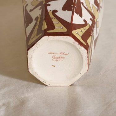 Arabia Fennia maljakko, käsinmaalattu, suunnittelija , käsinmaalattu kuva 2