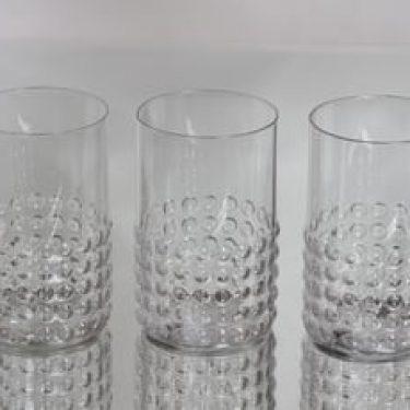 Riihimäen lasi Grappo lasit, 40 cl, 3 kpl, suunnittelija Nanny Still, 40 cl