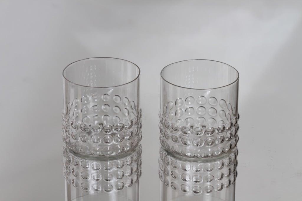 Riihimäen lasi Grappo lasit, 25 cl, 2 kpl, suunnittelija Nanny Still, 25 cl