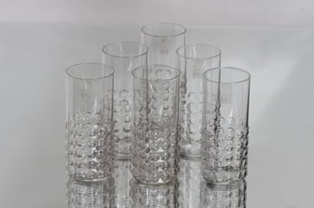 Riihimäen lasi Grappo lasit, 16 cl, 6 kpl, suunnittelija Nanny Still, 16 cl