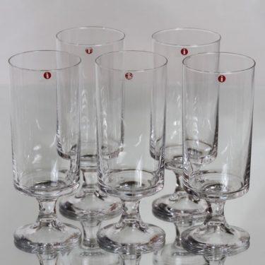 Iittala Karelia lasit, 30 cl, 5 kpl, suunnittelija Tapio Wirkkala, 30 cl