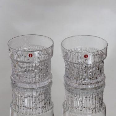 Iittala Kaarna lasit, 16 cl, 2 kpl, suunnittelija Timo Sarpaneva, 16 cl