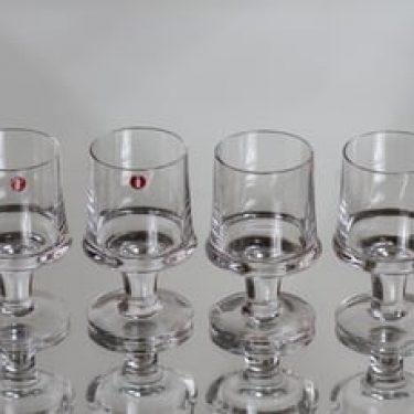 Iittala Marski lasit, 6 cl, 4 kpl, suunnittelija Tapio Wirkkala, 6 cl, pieni