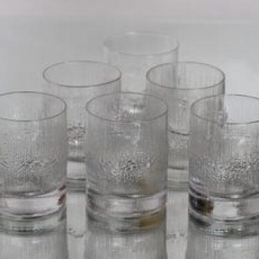 Iittala Niva lasit, 20 cl, 6 kpl, suunnittelija Tapio Wirkkala, 20 cl