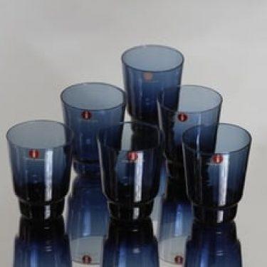 Iittala i-106 lasit, 3 cl, 6 kpl, suunnittelija Timo Sarpaneva, 3 cl, I-väri