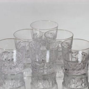 Iittala Kimara lasit, 10 cl, 6 kpl, suunnittelija Timo Sarpaneva, 10 cl