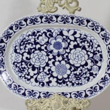 Arabia Gardenia vati, suunnittelija Esteri Tomula, soikea, serikuva