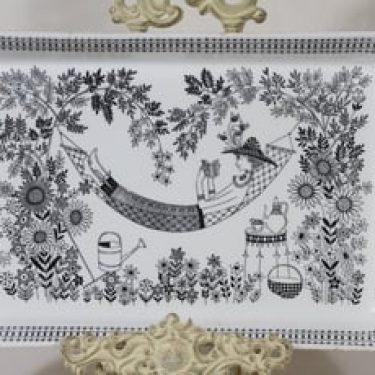 Arabia Emilia paistivati, suunnittelija Raija Uosikkinen, kuparipainokoriste