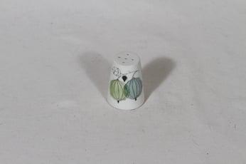Arabia Marja sirotin, käsinmaalattu, suunnittelija Esteri Tomula, käsinmaalattu, pieni, painettu