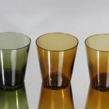 Nuutajärvi Viola lasit, 20 cl, 3 kpl, suunnittelija Kaj Franck, 20 cl