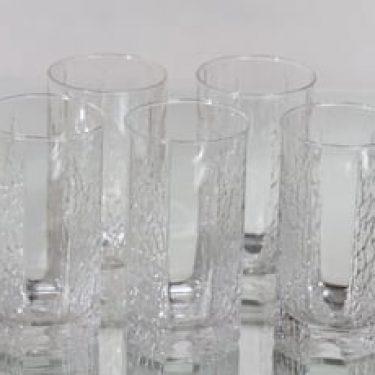 Iittala Kalinka lasit, 40 cl, 5 kpl, suunnittelija Timo Sarpaneva, 40 cl