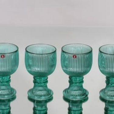 Iittala Viktor lasit, 10 cl, 4 kpl, suunnittelija Valto Kokko, 10 cl, pieni