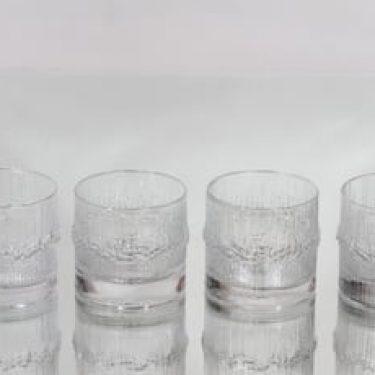 Iittala Niva lasit, 17 cl, 4 kpl, suunnittelija Tapio Wirkkala, 17 cl