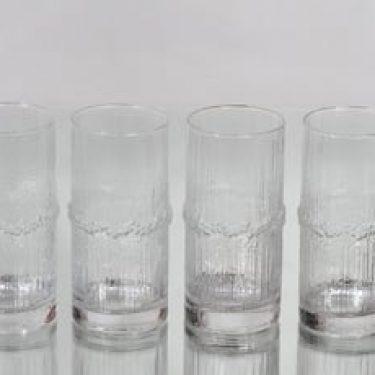 Iittala Niva lasit, 37 cl, 4 kpl, suunnittelija Tapio Wirkkala, 37 cl