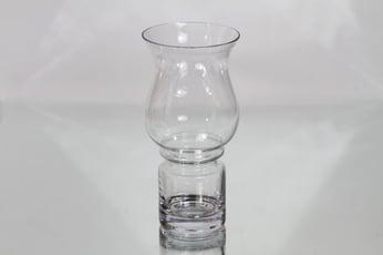 Riihimäen lasi Tulppaani maljakko, kirkas, suunnittelija Tamara Aladin,