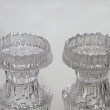 Iittala Stellaria tuikkulyhdyt, kirkas, 2 kpl, suunnittelija Tapio Wirkkala,