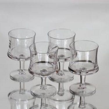 Iittala Romantica lasit, 7 cl, 4 kpl, suunnittelija Tapio Wirkkala, 7 cl