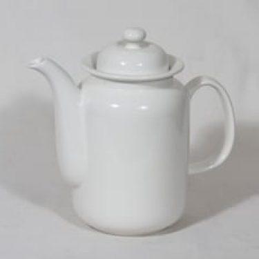 Arabia Arctica kahvikaadin, valkoinen, suunnittelija ,