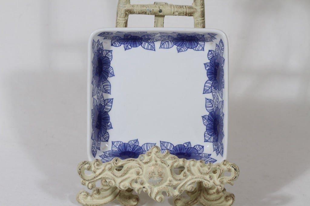 Arabia Malva kulho, sininen, suunnittelija Esteri Tomula, pieni, serikuva