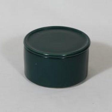 Arabia Kilta purnukka, vihreä lasite, suunnittelija Kaj Franck,