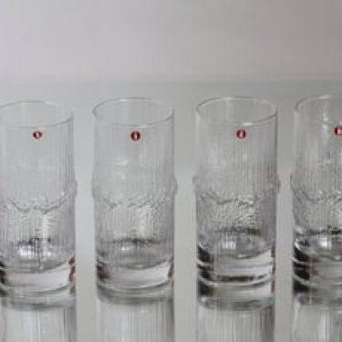 Iittala Niva lasit, 20 cl, 4 kpl, suunnittelija Tapio Wirkkala, 20 cl