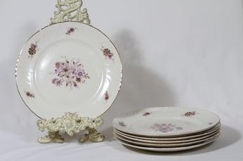 Arabia Raili lautaset, matala, 6 kpl, suunnittelija Svea Granlund, matala, siirtokuva