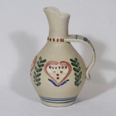 Kupittaa clay 289 jug, hand-painted