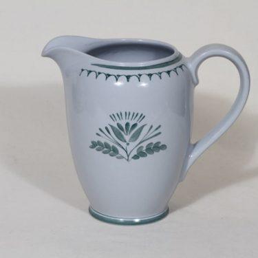 Arabia Green Thistle jug, 1 l, designer Oiva Toikka, silk screening