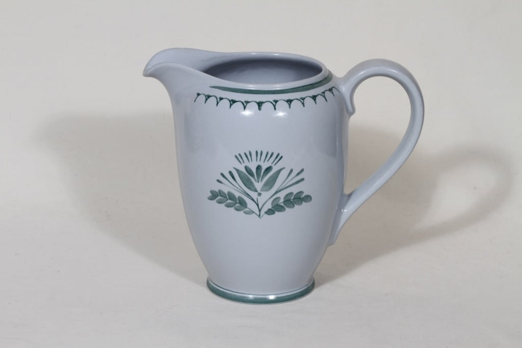 Arabia Green Thistle kaadin, 1 l, suunnittelija Oiva Toikka, 1 l, siirtokuva