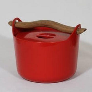 Rosenlew pata, punainen, suunnittelija Timo Sarpaneva,