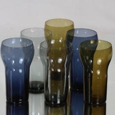 Nuutajärvi 1735 lasit, 25 cl, 6 kpl, suunnittelija Kaj Franck, 25 cl, eri värejä