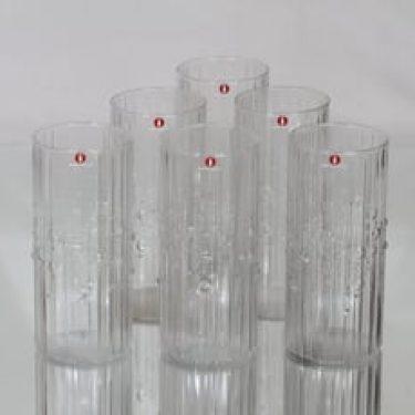 Iittala Mesi lasit, 33 cl, 6 kpl, suunnittelija Tapio Wirkkala, 33 cl