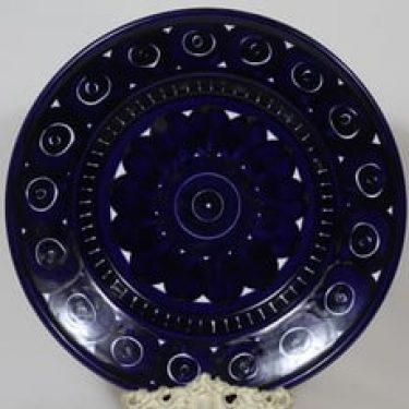 Arabia Valencia hedelmävati, käsinmaalattu, suunnittelija Ulla Procope, käsinmaalattu, suuri, signeerattu