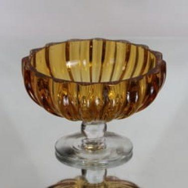 Kumela 4415 kulho, amber, suunnittelija Armando Jacobino, massiivinen