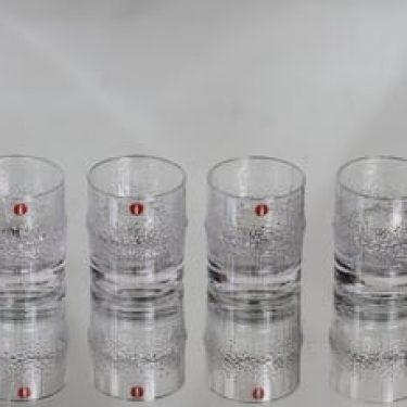 Iittala Niva lasit, 6 cl, 4 kpl, suunnittelija Tapio Wirkkala, 6 cl, pieni
