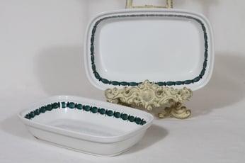 Arabia Minna kulhot, käsinmaalattu, 2 kpl, suunnittelija Gunvor Olin-Grönqvist, käsinmaalattu