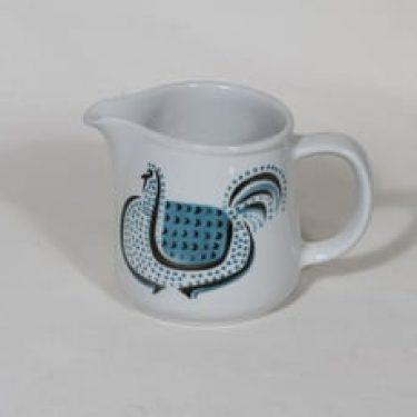 Arabia Lintu kaadin, sininen, suunnittelija Birger Kaipiainen, pieni, puhalluskoriste