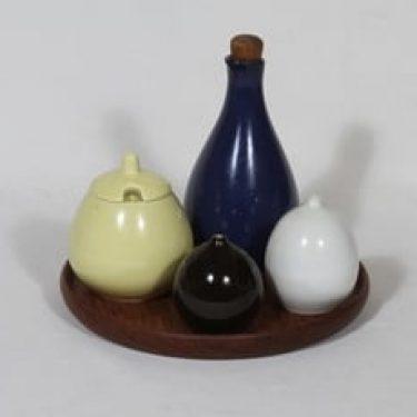 Arabia KA mausteikko, teak-alusta, 4 kpl, suunnittelija , teak-alusta